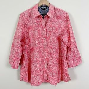 FOXCROFT Wrinkle Free Shaped Fit Button Down